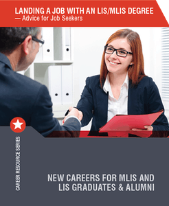 Career booklet landing job with MLIS degree