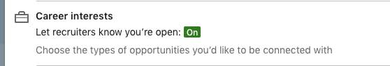 LinkedIn recruiters