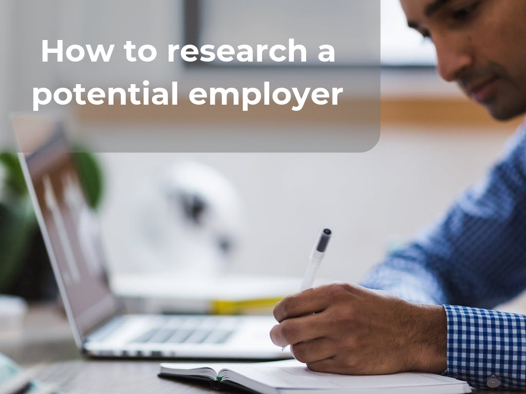 Research employer