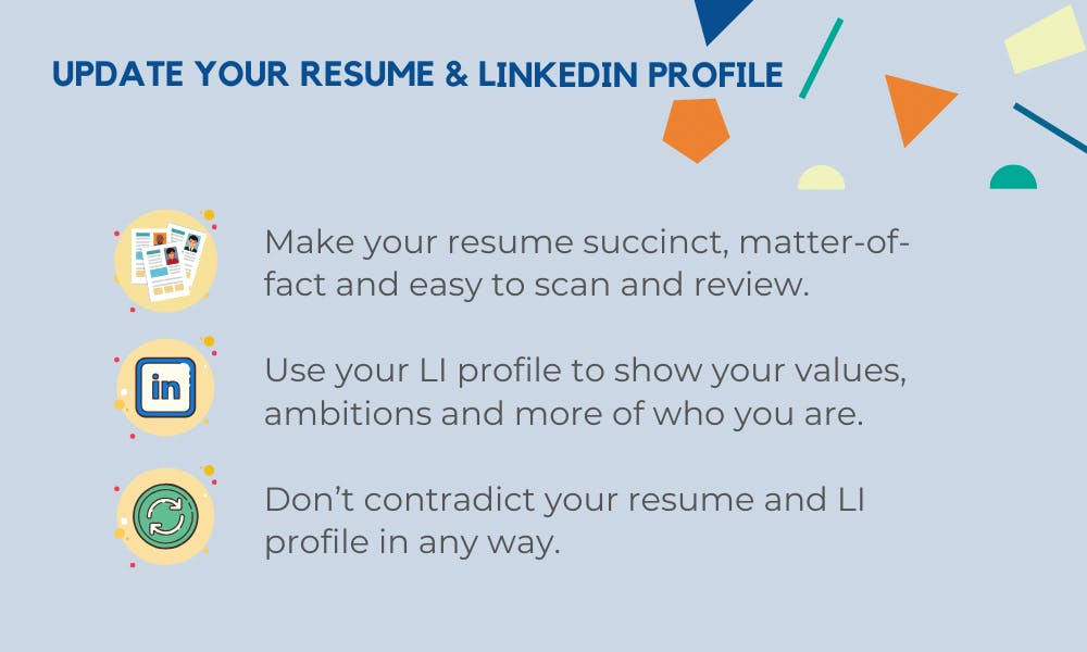 resume and linkedin tips