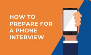 prepare phone interview